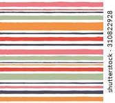 simple pattern with red stripes.... | Shutterstock .eps vector #310822928