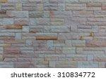 background of brick wall texture | Shutterstock . vector #310834772