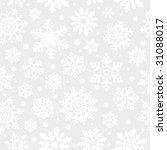 Snowflakes Seamless Background. ...