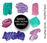 vector hand drawn brushes made... | Shutterstock .eps vector #310947662