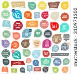modern badges collection | Shutterstock .eps vector #310971302