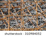Abstract Background Of Rusty...