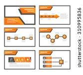 orange multipurpose infographic ...   Shutterstock .eps vector #310995836