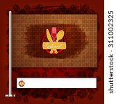 corporate identity flag rule... | Shutterstock .eps vector #311002325
