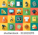big vector collection of... | Shutterstock .eps vector #311023295