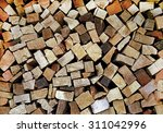 Wood Abstract Background....