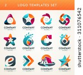 logo set logo collection idea... | Shutterstock .eps vector #311076542