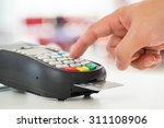 credit card payment  buy and... | Shutterstock . vector #311108906
