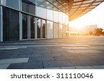 modern glass building exterior | Shutterstock . vector #311110046