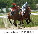 Stock photo the race for the prize of the russia day pyatigorsk caucasus russia 311110478