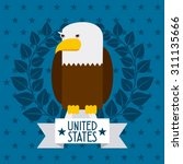 united states design  vector... | Shutterstock .eps vector #311135666