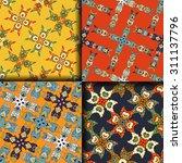 vector seamless pattern ethnic... | Shutterstock .eps vector #311137796