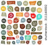 modern badges collection | Shutterstock .eps vector #311160002
