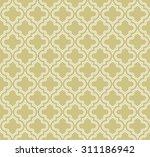 vector abstract pattern. grid... | Shutterstock .eps vector #311186942