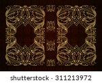 vector classical book cover.... | Shutterstock .eps vector #311213972