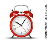 realistic red metal alarm... | Shutterstock .eps vector #311219336