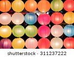 Arrange Of Colorful Chinese...