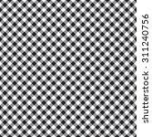 Checked Plaid Fabric Seamless...
