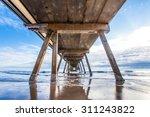 Underneath Pier Taken At...