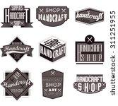 retro vintage insignias or... | Shutterstock .eps vector #311251955