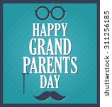 grandparents day greeting... | Shutterstock .eps vector #311256185