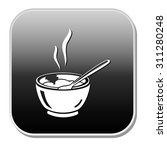 soup bowl icon | Shutterstock .eps vector #311280248