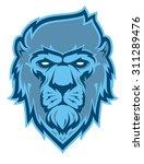 lion logotype. stylized... | Shutterstock .eps vector #311289476