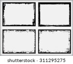 grunge frame.grunge background... | Shutterstock .eps vector #311295275
