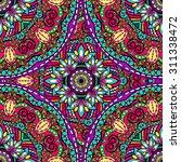 abstract ethnic ornate... | Shutterstock .eps vector #311338472