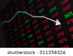 stock market   arrow graph... | Shutterstock . vector #311358326