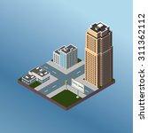 modern illustration of an... | Shutterstock .eps vector #311362112
