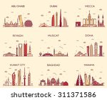 arabian peninsula skylines...