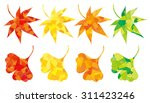 maple and ginkgo | Shutterstock .eps vector #311423246