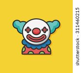 clown icon | Shutterstock .eps vector #311460215