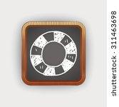 lifebuoy doodle | Shutterstock .eps vector #311463698