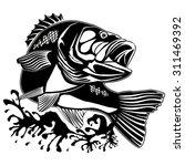 vector illustration of perch... | Shutterstock .eps vector #311469392