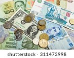 collection of various money to... | Shutterstock . vector #311472998