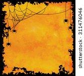 orange black halloween... | Shutterstock .eps vector #311476046