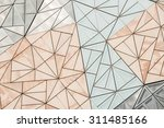 close up of the exterior design ... | Shutterstock . vector #311485166