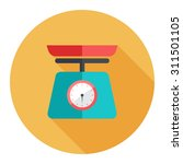 weight scale icon | Shutterstock .eps vector #311501105