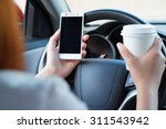 woman working at the wheel in... | Shutterstock . vector #311543942