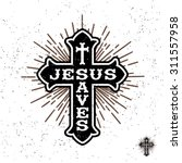 antique monochrome religious ... | Shutterstock .eps vector #311557958