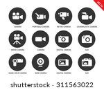 camera and technology vector... | Shutterstock .eps vector #311563022