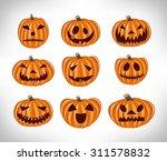pumpkin | Shutterstock .eps vector #311578832