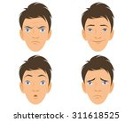 vector illustration of a four... | Shutterstock .eps vector #311618525