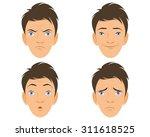 vector illustration of a four... | Shutterstock .eps vector #311618525