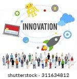 innovation plan planning ideas...   Shutterstock . vector #311634812