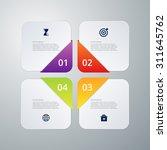 vector illustration of four... | Shutterstock .eps vector #311645762