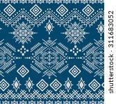 Ethno Seamless Pattern. Ethnic...
