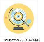 discovery  education flat style ... | Shutterstock .eps vector #311691338